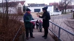 Georg Holischka im Gespräch mit Christine Pietsch vom Bürgerhaus Ingolstadt