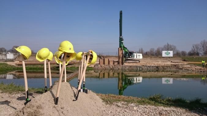 Die ersten Bauarbeiten haben bereits begonnen