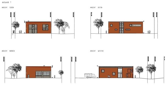Das geplante Feuerwehrgerätehaus Irgertsheim (Quelle: Öffentliche Sitzungsvorlage der Stadt Ingolstadt)