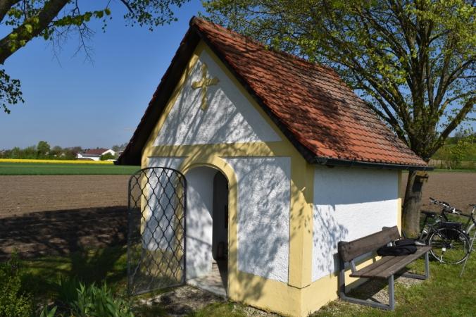Die 1752 errichtete Kapelle St. Wendelin im Irgertsheimer Süden