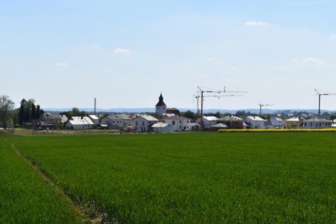 """Das Baugebiet """"Am Kirchberg"""". Ein Dorf verändert sich."""