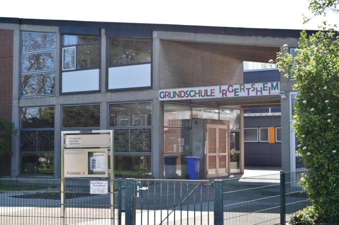 Seit 50 Jahren befindet sich die Irgertsheimer Grundschule in dem Gebäude an der Fröbelstraße